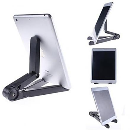 Portable Foldable Desktop Compact Tablet Holder For iPad Air Tablet PC