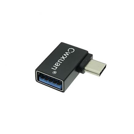 Cwxuan USB 3.1 Type C Адаптер, USB 3.1 Type C to USB 3.0 Адаптер Male - Female 5.0 Гб/сек.