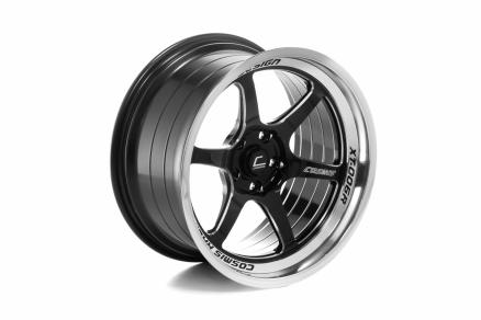COSMIS XT-006R 18x9,5 5x114,3 ET10 Black+diamond lip+spoke milling+¶ letter  milling