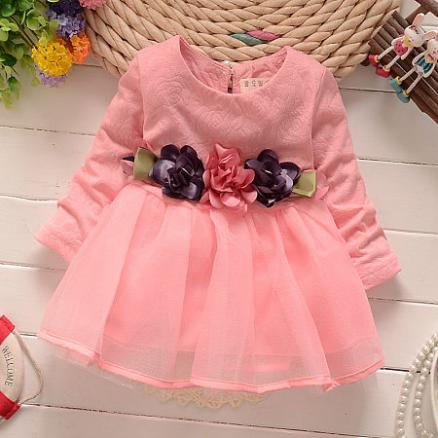 Flower Princess Baby Girl Dress (4232729)