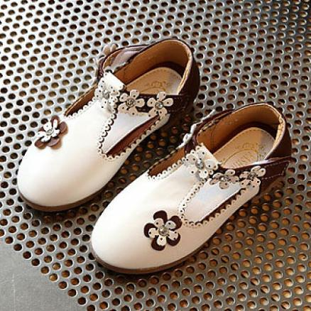Flower Decorated Velcro Shoes (4345796)