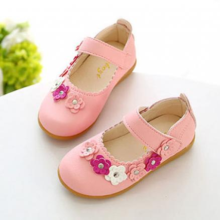 Flower Decorated Velcro Shoes (4484769)