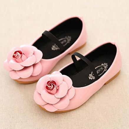 Flower Decorated Princess Shoes (4345762)