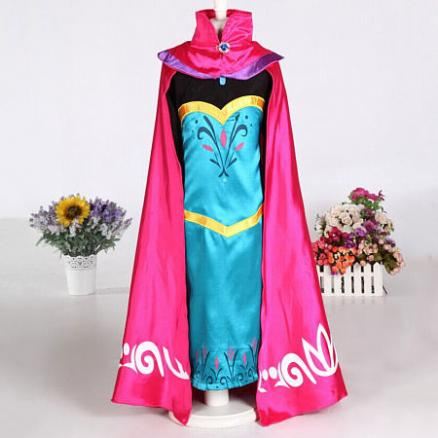 Rhinestone Decorated Color Block Dress With Cape (4115336)