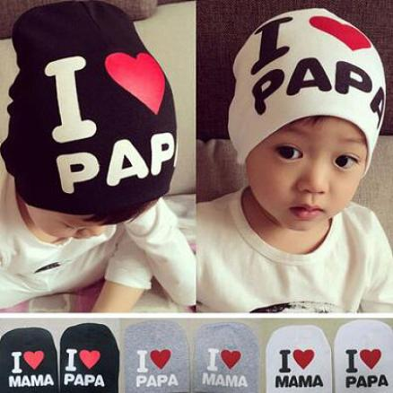 Letters Pattern Baby Cap (4058383)
