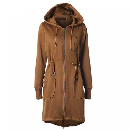 Hooded Trench Coat (3892657)