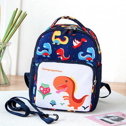 Cartoon Dinosaur Prints Backpack (4835007)