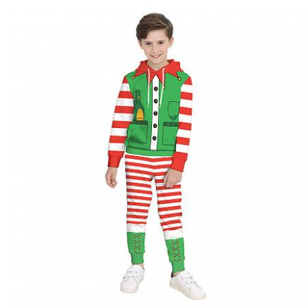 Christmas Stripes Color Block Sets (5661450)