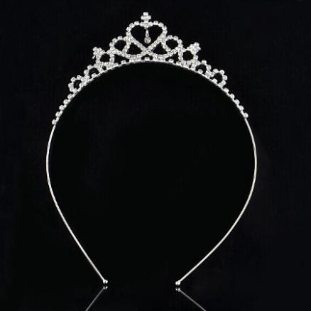 Elegant Crown Shaped Hairband By Pair (3861256)