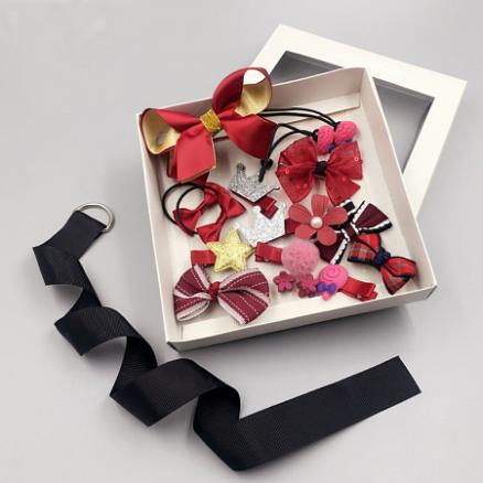Sweet Hair Accessories Set With Box (3735525)