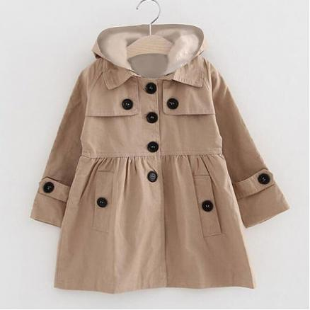 Single Breasted Trench Coat (3445154)