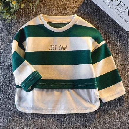 Striped Crew Neck T-Shirt (4975860)
