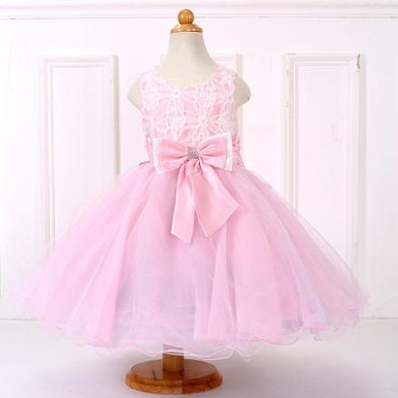 Sweet Big Bowknot Princess Dress (4172216)