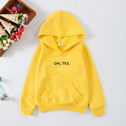 Letters Pattern Hooded Sweatshirt (4972235)