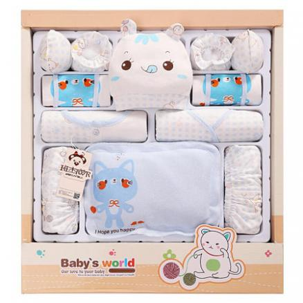 Cotton Newborn Baby Gift Boxes Clothes (4033180)