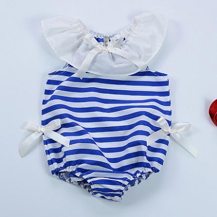 Stripe Girls Romper (3563983)