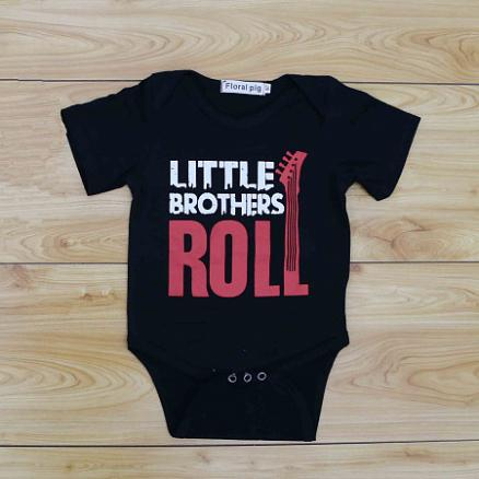 Little Brothers Boys Handsome Romper (3551902)