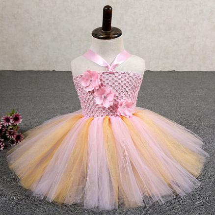 Cute Baby Girls Tutu Dress For Baby Photo Props (3935690)