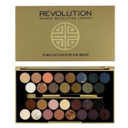 Палетка теней MakeUp Revolution (30 Eyeshadow Palette Fortune Favours The Brave)