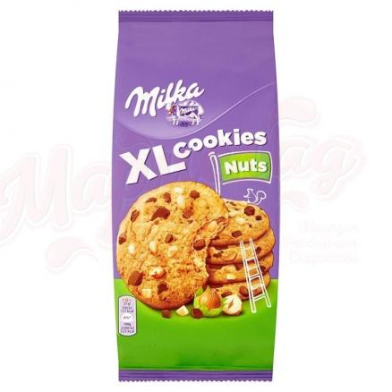 Печенье Milka Nuts XL Cookies