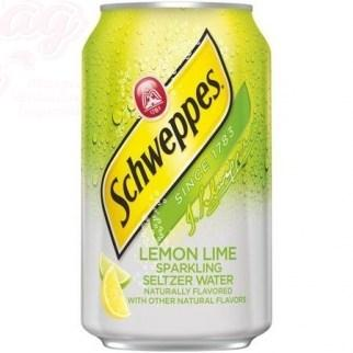 Schweppes Lemon and Lime 0,355л