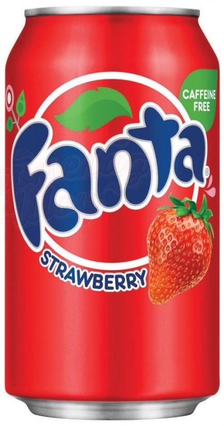 Fanta Strawberry (Клубника) USA 0,355л