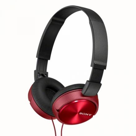 Наушники Sony MDR-ZX310R red black