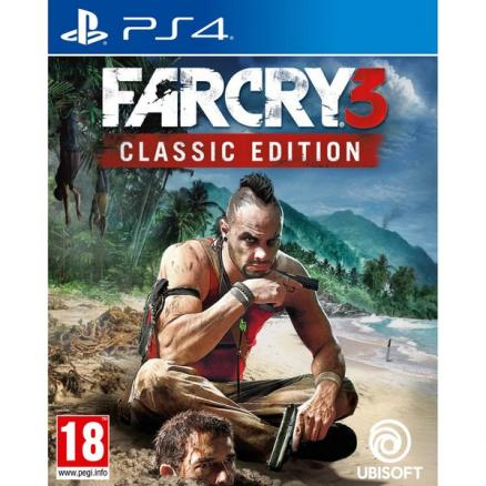Far Cry 3 Classic Edition PS4, русская версия (Ubisoft Far Cry 3 Classic Edition PS4, русская версия)