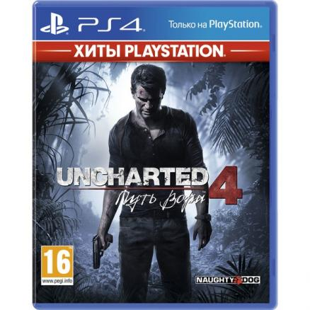 Uncharted 4: Путь вора PS4, русская версия (Uncharted 4: Путь вора PS4, русская версия Хиты PlayStation)