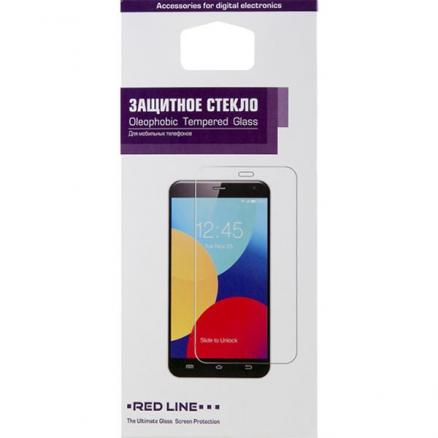 Защитное стекло Red Line для Huawei P Smart Z 2019 Full Screen tempered glass черный