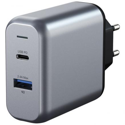 Зарядное устройство Satechi 30W Dual-Port Travel Charger (2 USB /2.4 A)