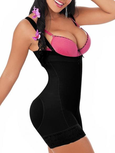 Underbust Lace Up Body Shaper