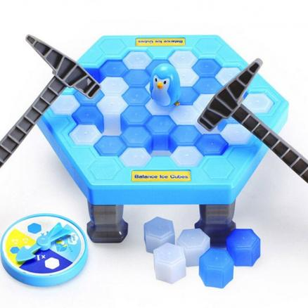 Novelty Educational Puzzle Toy Saving Penguin Desktop Game