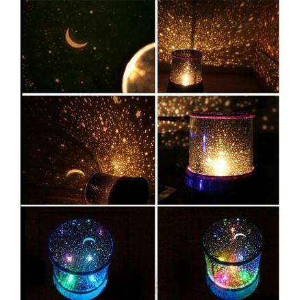 Sky Star Master Night Light Projector LED Lamp Fun Master Children Gift