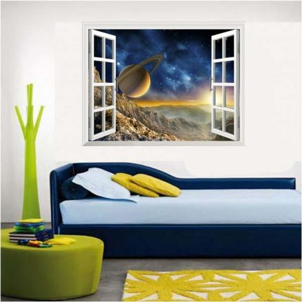 Home Decoration Creativity 3D Starry Sky Wall Stickers