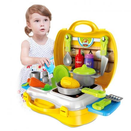 Role-Playing Simulation Suitcase Toy