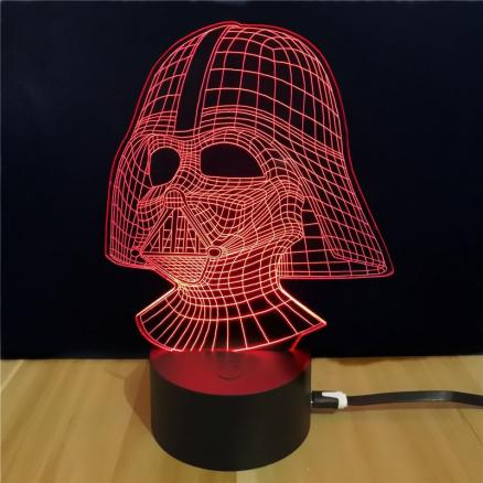 Shining Td054 Star Wars Darth Vader Shape 3D LEDLamp