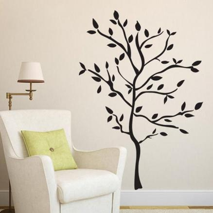 Environmental Protection Removable Small Tree Wall Stickers