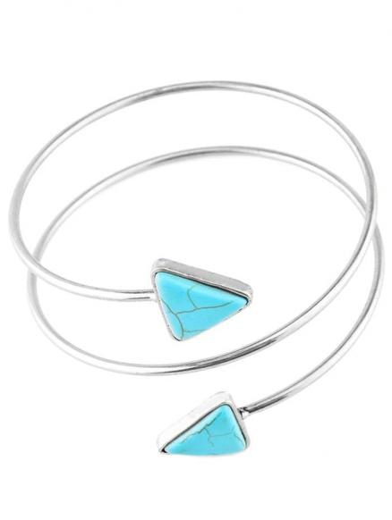 Graceful Artificial Turquoise Body Chain