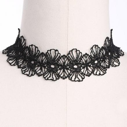 Floral Adorn Choker Necklace