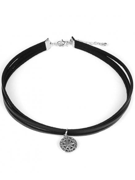 Punk Style PU Leather Choker
