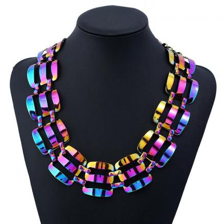 Alloy Statement Chunky Necklace