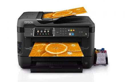 МФУ Epson WorkForce WF-7620DTWF Refurbished by Epson с СНПЧ