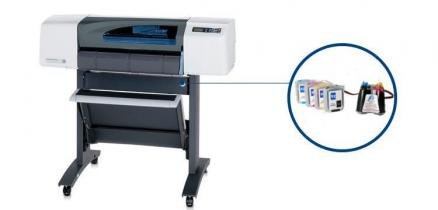 "Плоттер HP DesignJet 500 Plus 24"" с СНПЧ"