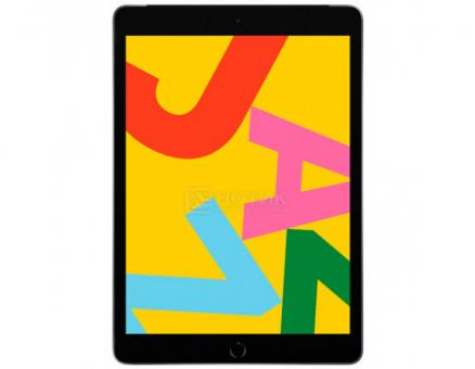 "Планшет Apple iPad 10.2 32Gb Wi-Fi + Cellular Space Gray (iPadOS 13.1/A10 Fusion 2340MHz/10.20"" 2160x1620/3072Mb/32Gb/4G LTE ) [MW6A2RU/A]"