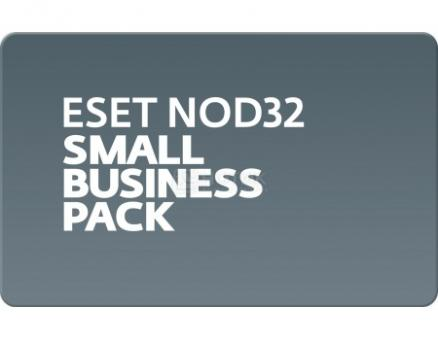 Электронная лицензия ESET NOD32 Small Business Pack лицензия на 10 ПК.