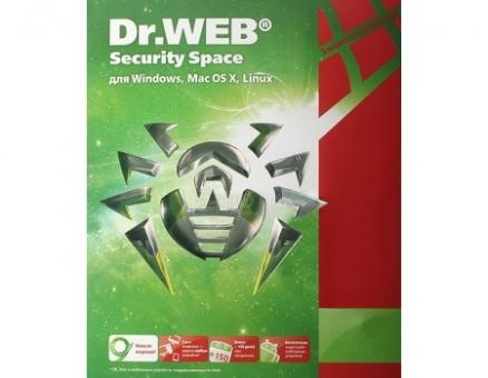 Электронная лицензия Dr.Web Security Space, 12 мес. на 3 ПК