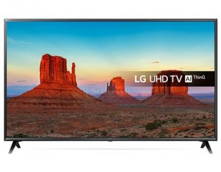 Телевизор LG 49 LED, UHD, IPS, Smart TV (webOS), Звук (20 Вт (2x10 Вт)) , 3xHDMI, 2xUSB, 1xRJ-45, Черный 49UK6300PLB