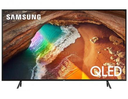 Телевизор Samsung 49 UHD, QLED, Smart TV , Звук (20 Вт (2x10 Вт)), 4xHDMI, 2xUSB, 1xRJ-45, PQI 2400, Черный QE49Q60RAUXRU