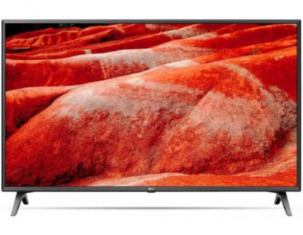 Телевизор LG 43 LED, UHD, IPS, Smart TV (webOS), Звук (20 Вт (2x10 Вт)) , 4xHDMI, 2xUSB, 1xRJ45, Черный, 43UM7500PLA